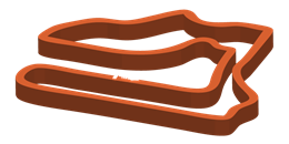 Track layout for Global Mazda MX-5 Cup Challenge
