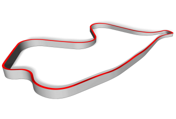 Track layout for Canadian Tire Motorsport Park