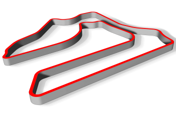 Track layout for Sebring International Raceway