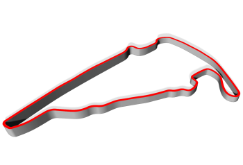 Track layout for Virginia International Raceway