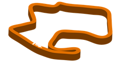 Track layout for WeatherTech Raceway Laguna Seca